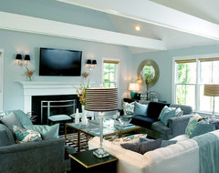 Mary Prince © 2012 Houzz contemporary living room