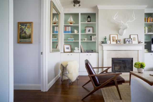 My Houzz: Eunice's Home transitional-living-room