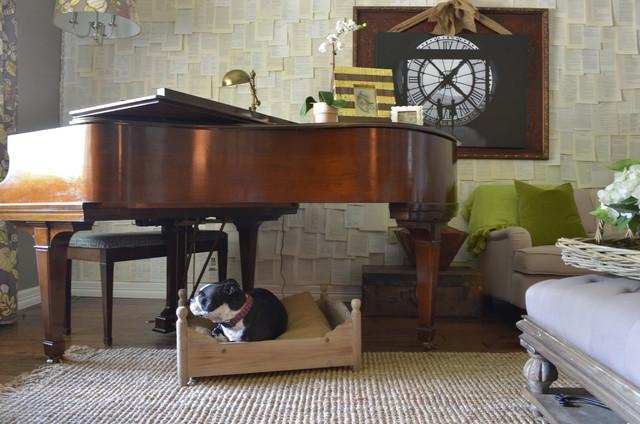Abilene, TX: Camille Dickson eclectic-living-room