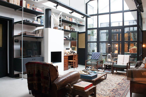 eclectic living room interiors