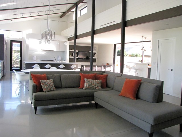 My Houzz A Labor Of Modern Love In Costa Mesa Midcentury Living Room Orange County By