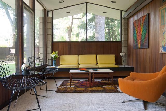 Matthew Bobbie Fisher Midcentury Living Room