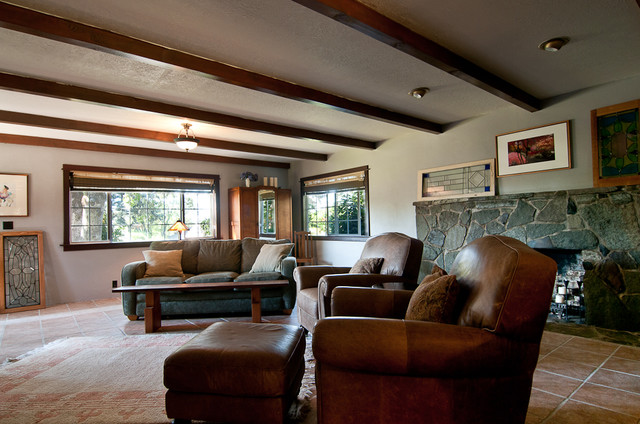 My Houzz: A Ranch Style home in Salem Oregon Evokes Old World European ...