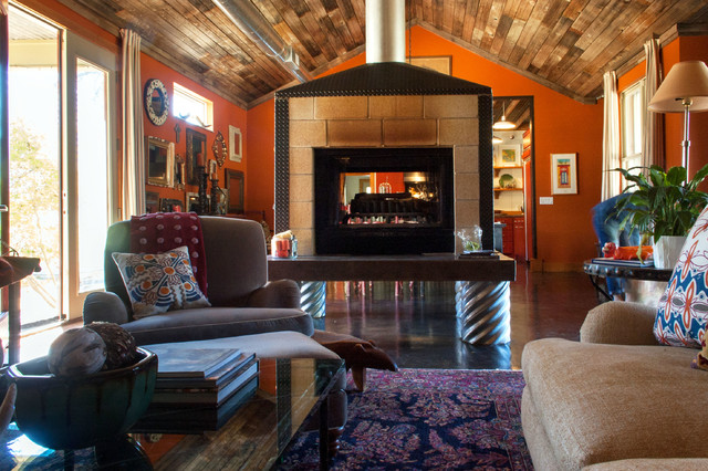 My Houzz: Adrienne Sams eclectic-living-room