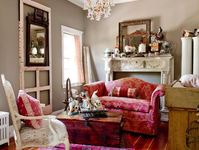 my houzz amanda crames eclectic living room new york by rikki snyder. Black Bedroom Furniture Sets. Home Design Ideas