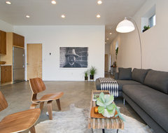 My Houzz: Amy and Kerri midcentury living room
