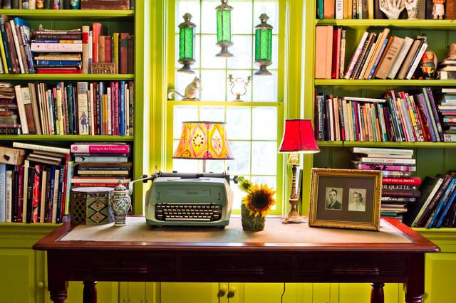 Eclectic Farm House farmhouse-living-room