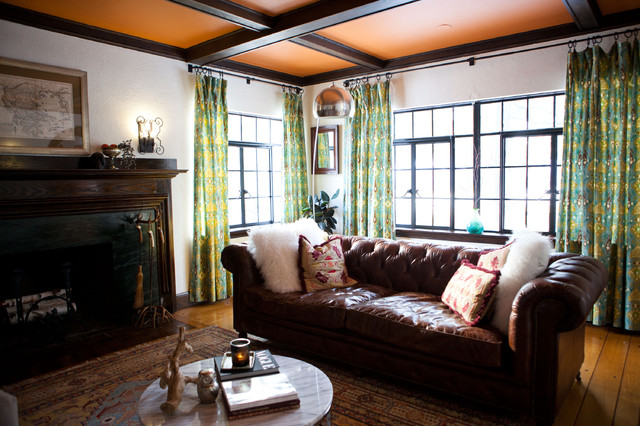 My Houzz Antiques Mingle With Modern Style In A 1920s Tudor