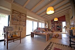 My Houzz Artist Home And Studio Overlooking Kangaroo Island Rustic Living Room Adelaide