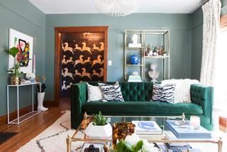 My Houzz Berkeley Home Eclectic Living Room San