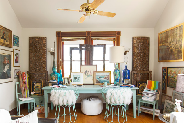 My Houzz Bohemian Chic In A Victorian Carriage House Living Room