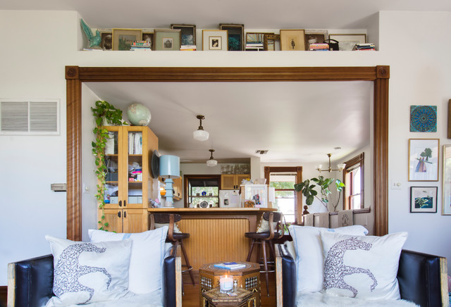 My Houzz Bohemian Chic In A Victorian Carriage House