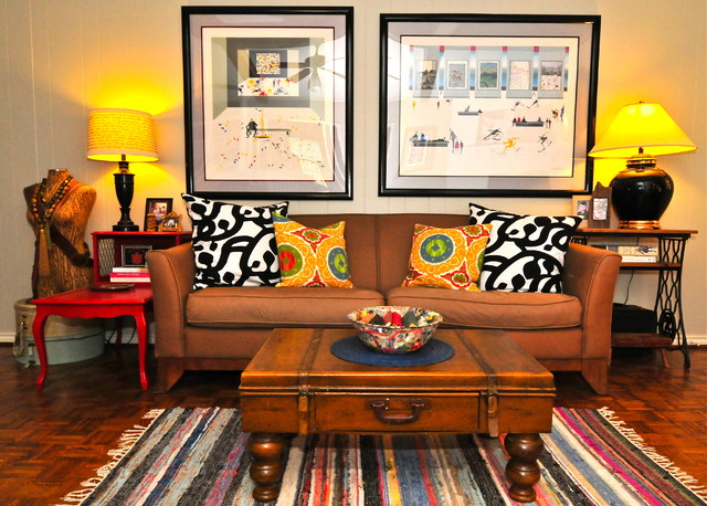 Sarah Greenman eclectic-living-room