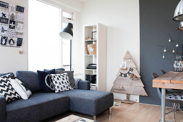my houzz budget friendly scandinavian style. Black Bedroom Furniture Sets. Home Design Ideas