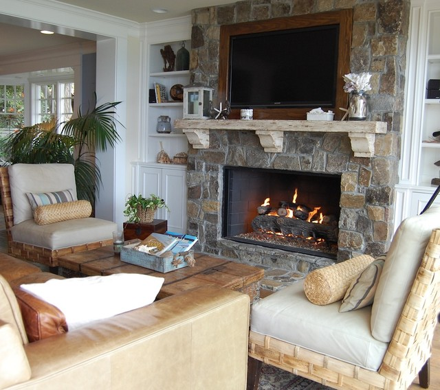 My Houzz Cape Cod Style In California Beach Living Room
