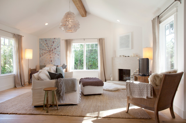 My Houzz Casual Organic Elegance In California Contemporary Living Room