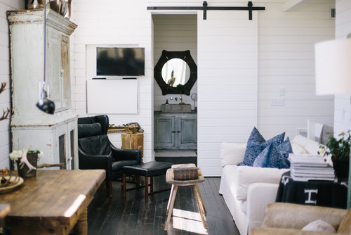 My Houzz: Charming Converted Barn Loft Outside Nashville