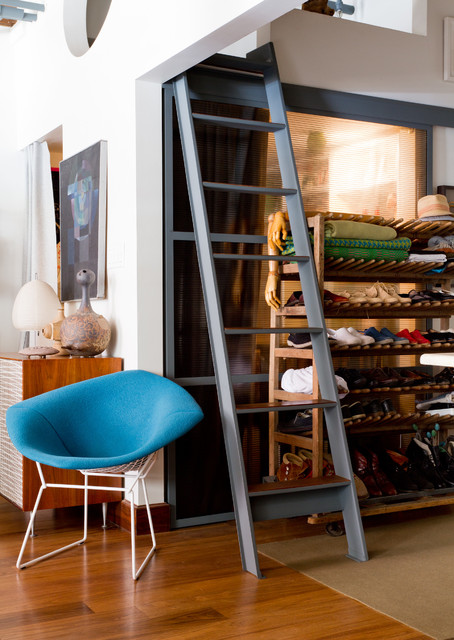 My Houzz: Brin & Nate eclectic-living-room