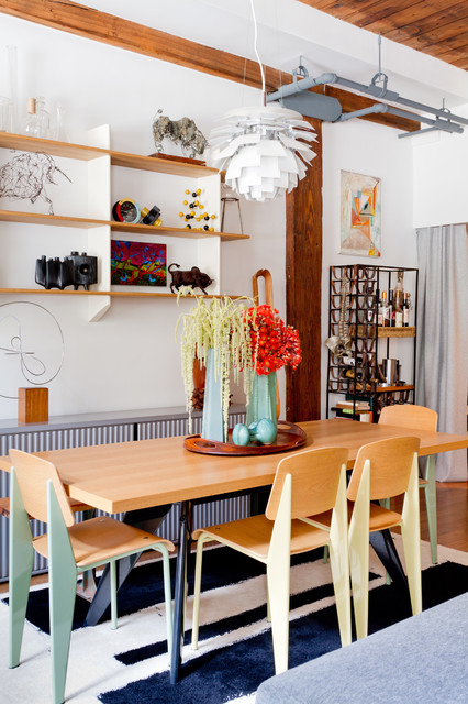 My Houzz: Cheerful, Cool and Collected in a Brooklyn Loft ...