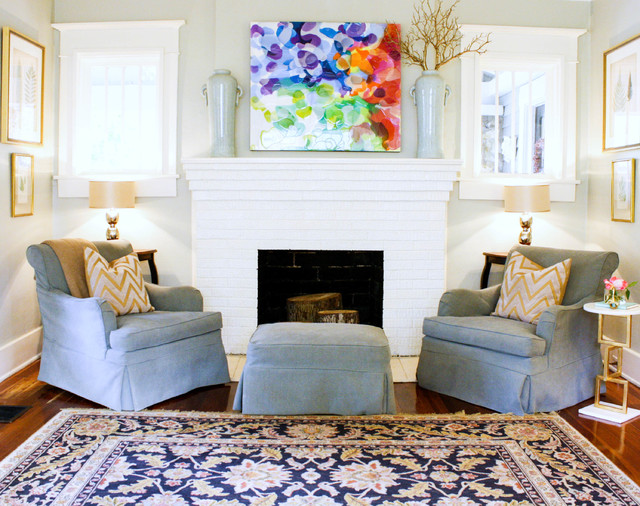 My Houzz: McGeachy Residence transitional-living-room