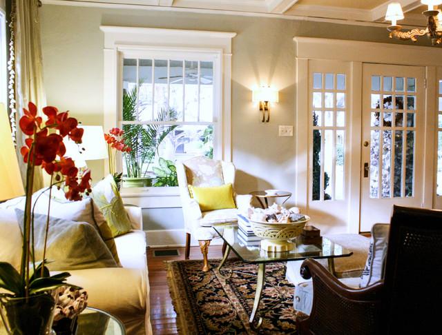 My Houzz Mcgeachy Residence Transitional Living Room Tampa By Mina Brinkey