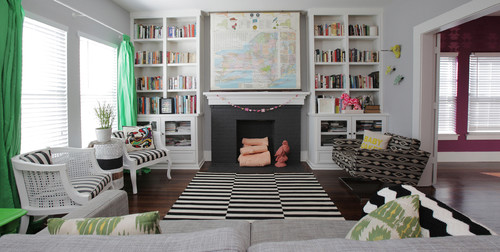10 Ways To Decorate Your Fireplace In The Summer, Since You Won\'t ...