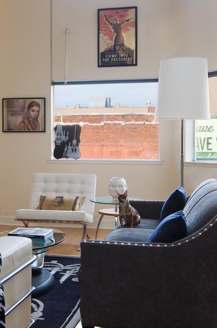 Loft Living Room modern-living-room