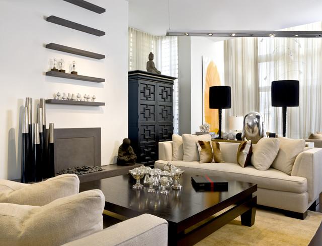 Industry Insider contemporary-living-room