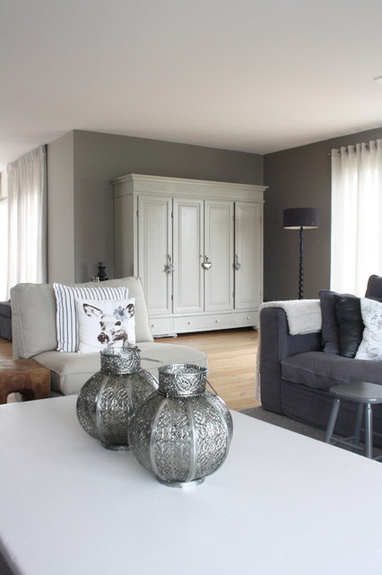 My Houzz: Country Chic family home in the Netherlands contemporary-living-room