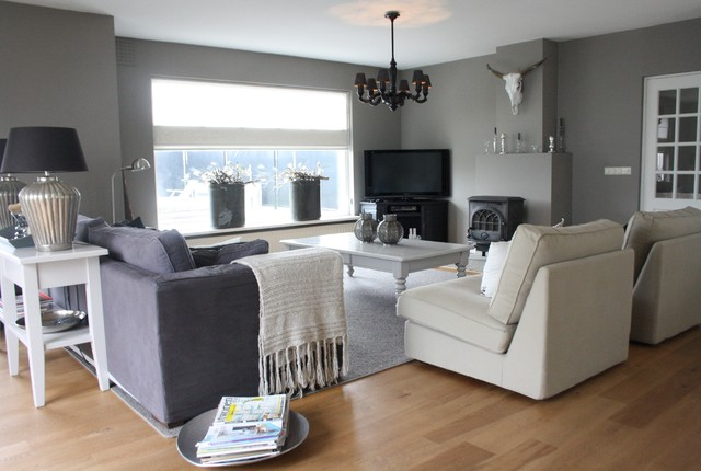 My Houzz: Country Chic family home in the Netherlands - Contemporary - Living Room - amsterdam ...