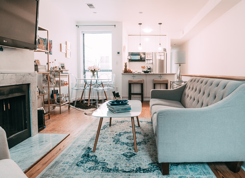 Apartment Tour + Interview on Houzz by popular Washington DC lifestyle blogger Cobalt Chronicles