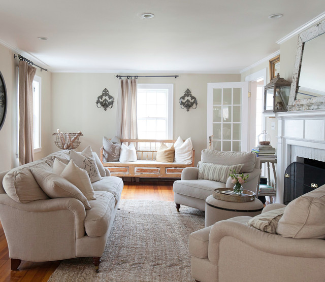 My Houzz: Cozy Comfort and Neutral Style in New England