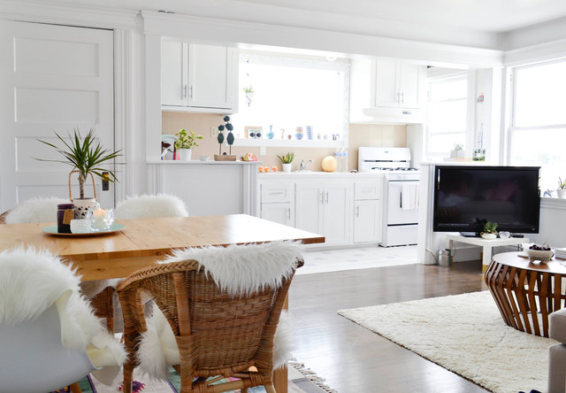 My Houzz: Creative Flair Brightens A San Francisco Apartment Eclectic Living  Room