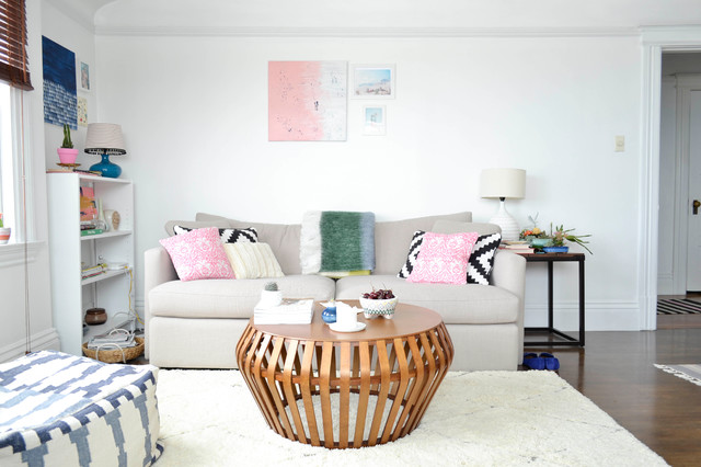 My Houzz: Creative Flair Brightens A San Francisco Apartment Eclectic Living  Room Part 84