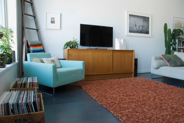 My Houzz: Creativity Personalizes a Vancouver Loft - Eclectic - Living ...