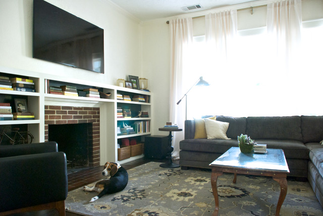 My Houzz: Dallas, TX: Aubrey And Kale Butcher Transitional Living Room