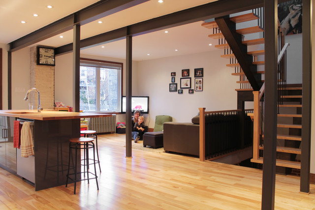 My Houzz Duplex Becomes A Bright And Spacious Single