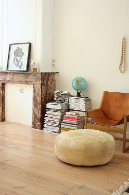 My Houzz: Eclectic Amsterdam Apartment eclectic-living-room