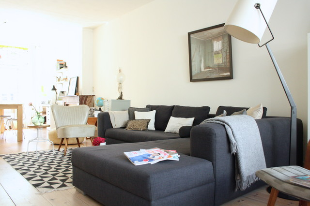 My Houzz Eclectic Amsterdam Apartment Living Room