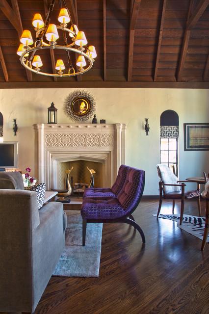 My Houzz Eclectic Berkeley Tudor Living Room