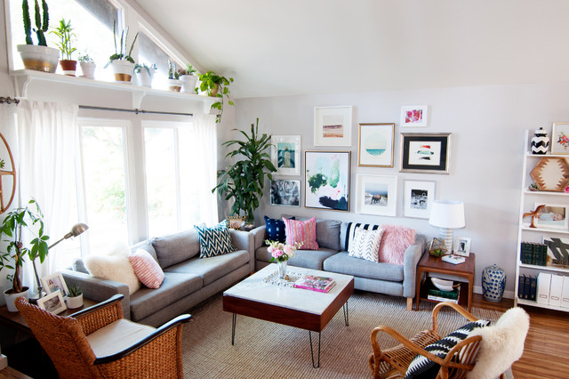 My Houzz Eclectic Bohemian Style In A 1976 Fixer Upper