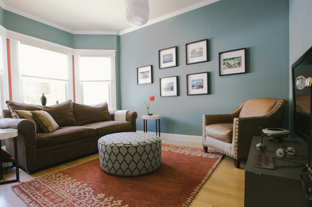 My Houzz Elsie St Transitional Living Room San Francisco By Nanette Wong