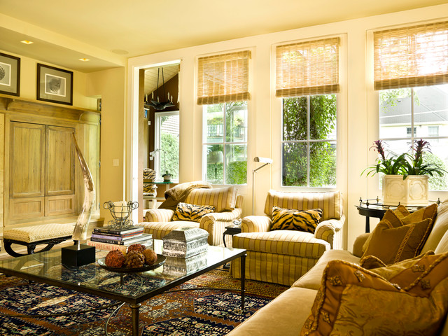 traditional living room by Cynthia Lynn Photography