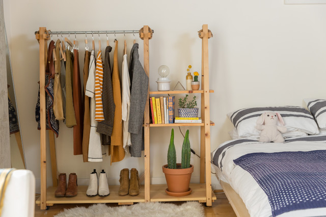 My Houzz: Fashion Pro Brings Cool DIY Charm to Her Studio Loft eclectique-salon