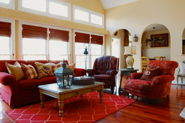 french farmhouse living room my houzz country meets southern farmhouse style in 13496