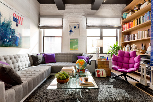 My Houzz: Fresh Color and a Smart Layout for a New York Apartment