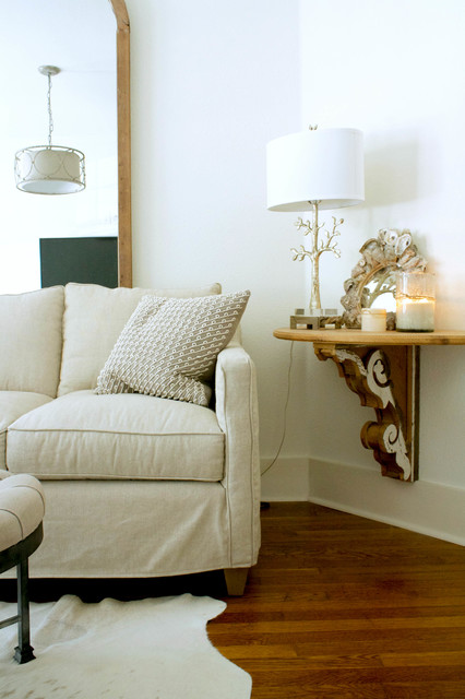 My Houzz: Gagnon Residence - Transitional - Living Room - tampa - by Mina Brinkey