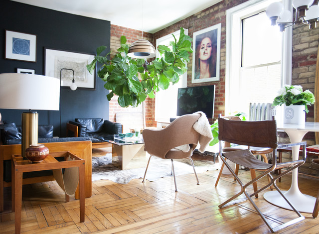 My Houzz: Gentlemen\'s Club-Meets-Treehouse Style in Brooklyn ...