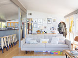 midcentury living room My Houzz: DIY Efforts Reward a Berkeley Family (18 photos)