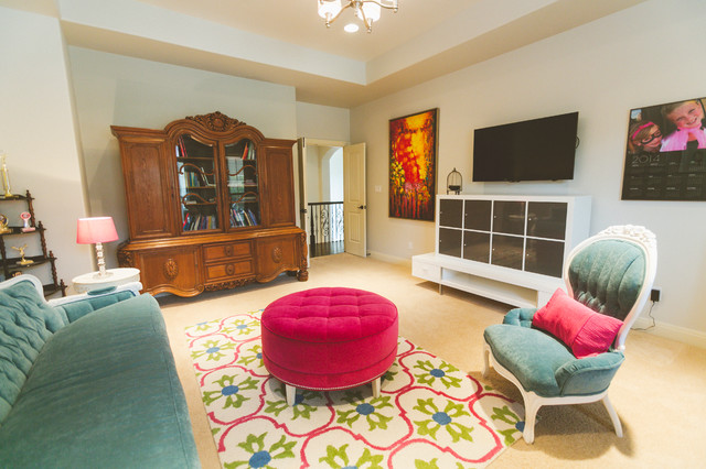 My Houzz Transitional Living Room Other Metro By Heather Banks